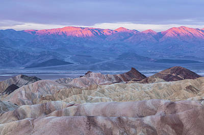 Photograph - Death Valley At Sunrise by Jonathan Nguyen