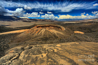 Photograph - Death Valley Volcanic Landscape by Adam Jewell