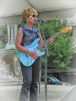 Photograph - Debbie Davies At Motofest by Mike Martin