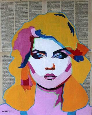 Debbie Harry, Blondie Art Print by Venus