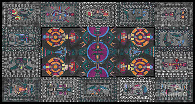 Tribal Art Gallery Painting - Decorative Art  by Gull G
