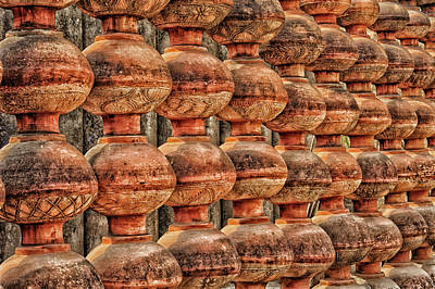 Photograph - Decorative Pot Fence by Mary Raderstorf
