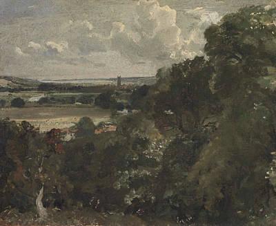 Dedham Painting - Dedham From Near Gun Hill by John Constable