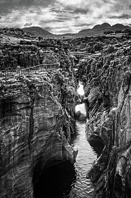 Photograph - Deep Canyon by Maria Coulson