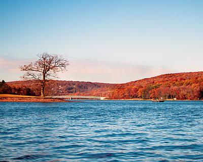 Deep River County Park Photograph - Deep Creek Lake Fall V by Neal Blizzard