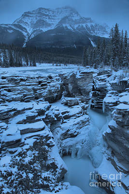 Photograph - Deep Freeze At Athabasca Falls by Adam Jewell