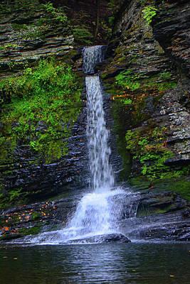 Photograph - Deer Leap Falls by Raymond Salani III