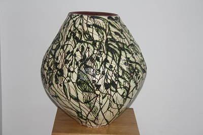 Ceramic Art - Deity by Gloria Ssali