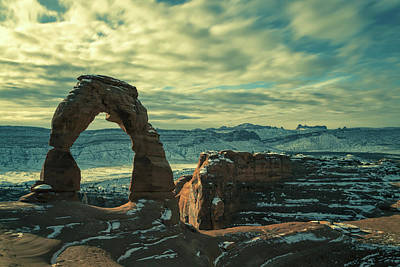 Photograph - The Delicate Arch  by Jonathan Nguyen