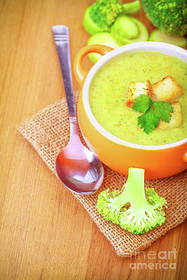 Photograph - Delicious Vegetarian Soup by Anna Om