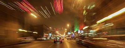 Photograph - Delmar Avenue Blur by Garry McMichael