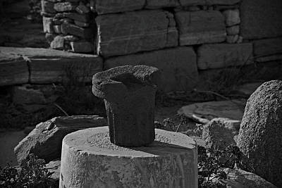 Photograph - Delos Greece by Cendrine Marrouat