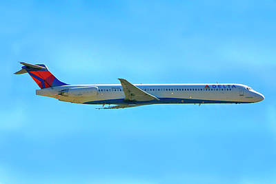 Photograph - Delta Md88 by Chris Smith