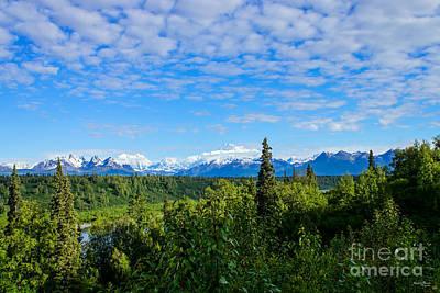 Photograph - Denali Mountain Range by Jennifer White