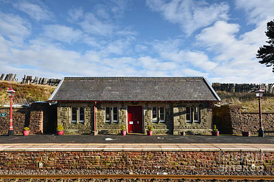 Dent Railway Station Art Print