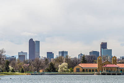 Photograph - Denver City Skyline Scenes Near And Around Downtown by Alex Grichenko