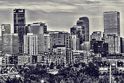 Denver Colorado Art Print