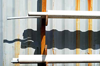 Photograph - Aluminum Siding by Diana Angstadt