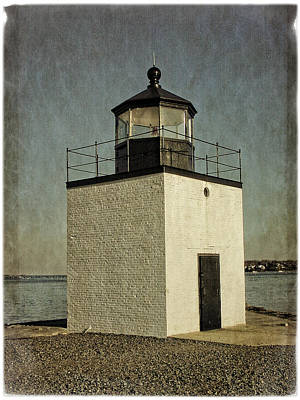 Photograph - Derby Wharf Light by Mike Martin