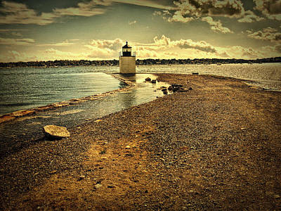 Photograph - Derby Wharf Lighthouse by Jeff Folger
