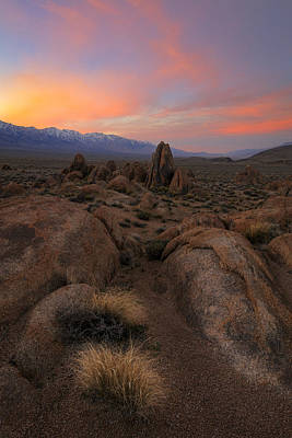 Alabama Hills Photograph - Desert Dreaming by Mike Lang