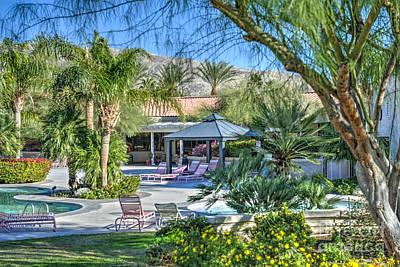 Photograph - Desert Hot Springs by David Zanzinger