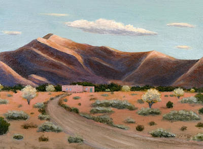 Painting - Desert Ranch by Gordon Beck