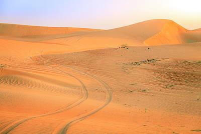 Photograph - Desert Road by Alexey Stiop
