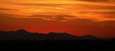 Photograph - Desert Sunset by Christy Pooschke