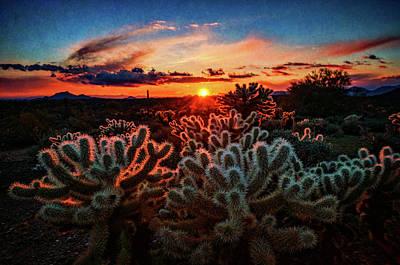 Photograph - Desert Sunset  by Saija Lehtonen