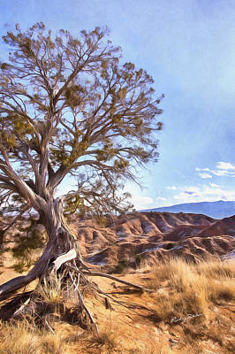 Painting - Desert Tree by Ricky Dean
