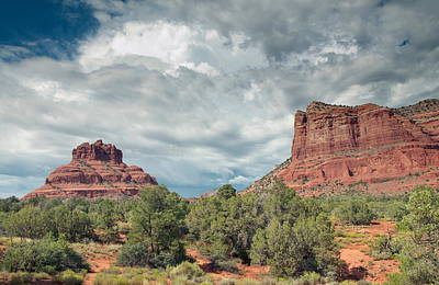 Great Outdoors Photograph - Desert View, Sedona, Arizona by American School