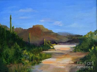 Painting - Desert Walk by Pamela Shearer