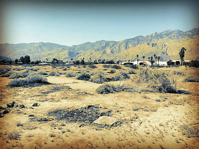Photograph - Deserted Desert Palm Springs by Amyn Nasser
