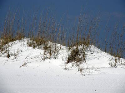 Destin Sand Dunes Art Print by Deb JAZI Raulerson