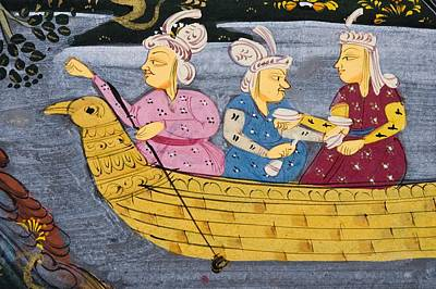 Detail From Painting From 17th Century Print by Vintage Design Pics