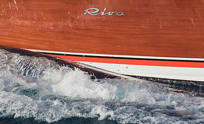 Photograph - Riva Detail by Steven Lapkin