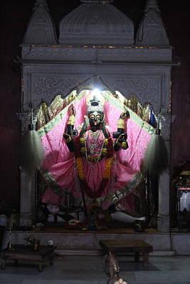 Hindu Goddess Photograph - Devi Temple, Vrindavan by Jennifer Mazzucco