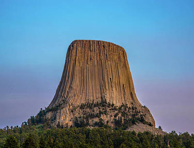 Photograph - Devils Tower by James Dudrow