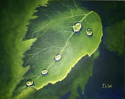 Painting - Dew Drops by Justin Lee Williams