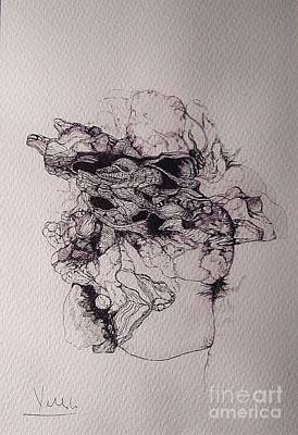 Dibujo Art Print by Cesar Velasco
