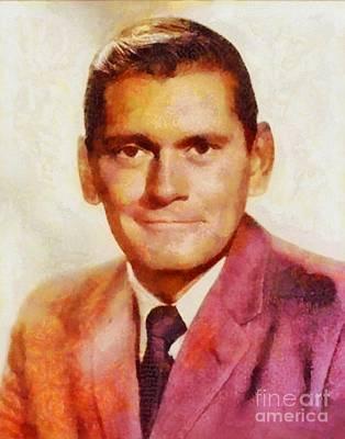 Dick York, Vintage Hollywood Actor Art Print