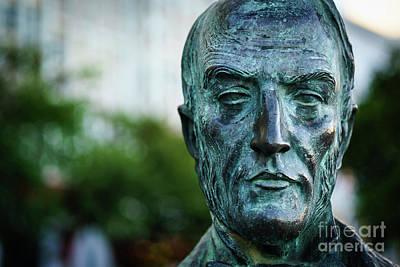 Photograph - Diego Fernando Montanes Alvarez Statue Cadiz Spain by Pablo Avanzini