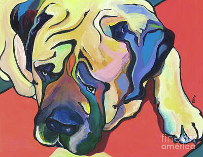 Painting - Diesel by Pat Saunders-White