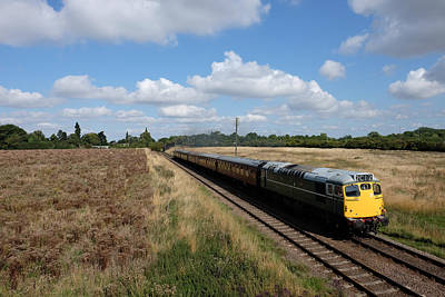 Photograph - Diesel Train by Mark Severn