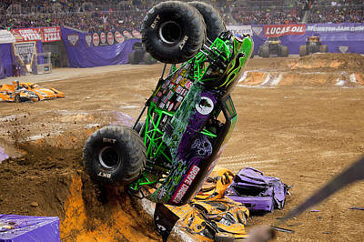 Backflip Photograph - Dig In by Jason Wisely