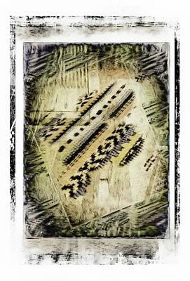 Digital Abstract Painting  Art Print