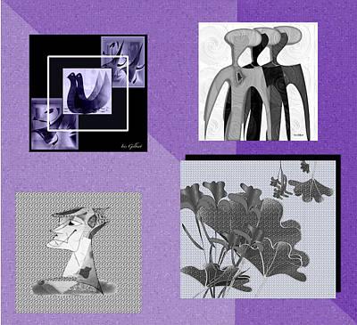 Digital Art - Digital Collage #2 by Iris Gelbart