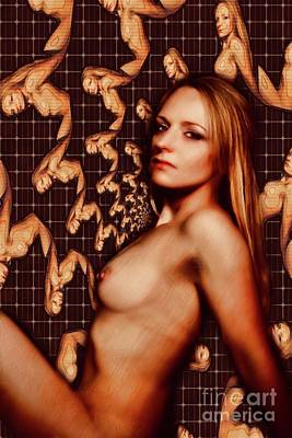 Surrealism Royalty-Free and Rights-Managed Images - Digital Erotica by Mary Bassett