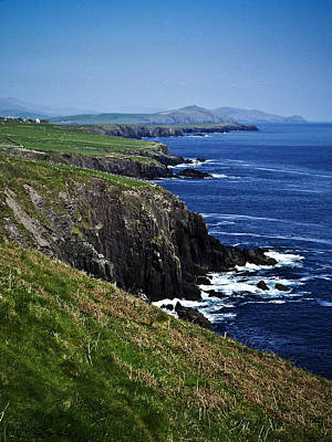 Ireland Photograph - Dingle Coastline Near Fahan Ireland by Teresa Mucha